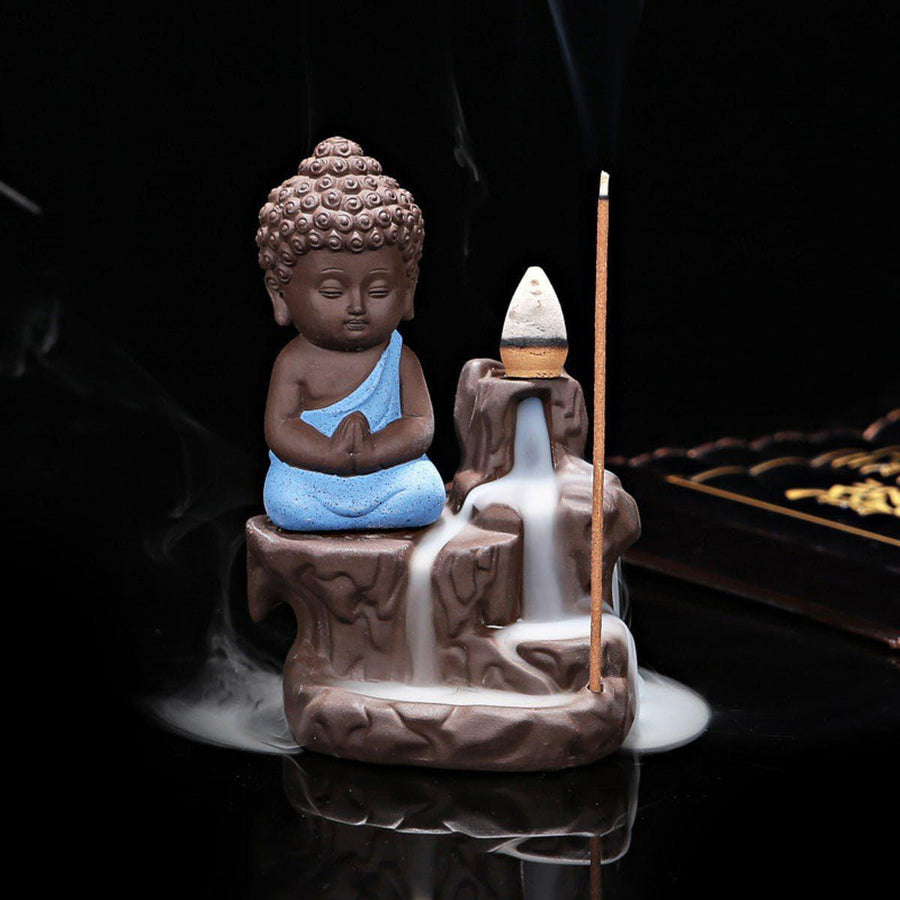Creative Home Decor The Little Monk Censer Backflow Incense Burner Use In The Home Office Teahouse X1113 incense creative-home-decor-the-little-monk-censer-backflow-incense-burner-use-in-the-home-office-teahouse-x1113 2