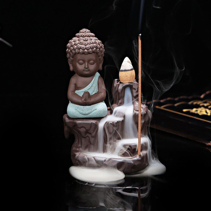 Creative Home Decor The Little Monk Censer Backflow Incense Burner Use In The Home Office Teahouse X1113 incense creative-home-decor-the-little-monk-censer-backflow-incense-burner-use-in-the-home-office-teahouse-x1113 4