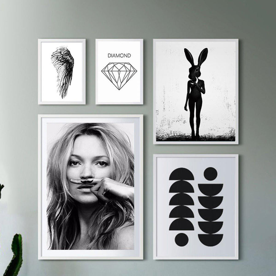 Cuadros Posters And Prints Wall Art Canvas Painting Wall Pictures For Living Room Nordic Decoration Smile Girl No Poster Frame Wall Art cuadros-posters-and-prints-wall-art-canvas-painting-wall-pictures-for-living-room-nordic-decoration-smile-girl-no-poster-frame 13X18cm / A