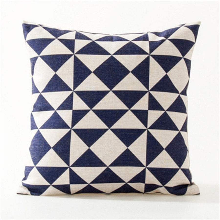 Decorative throw pillows case Nordic Style Geometric Cotton Linen Cushion Cover For Sofa Home Decor Capa De Almofadas 45x45cm pillows pillow decorative-throw-pillows-case-nordic-style-geometric-cotton-linen-cushion-cover-for-sofa-home-decor-capa-de-almofadas-45x45cm 2
