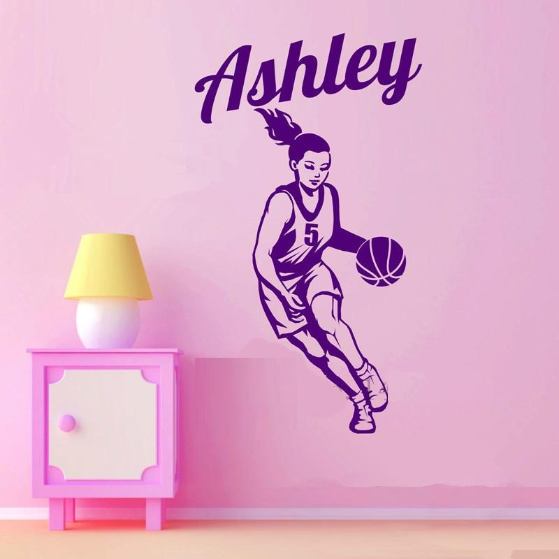 Basketball Girl Player Personalized
