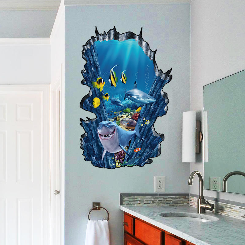 Ocean Wall Sticker-Spirylife