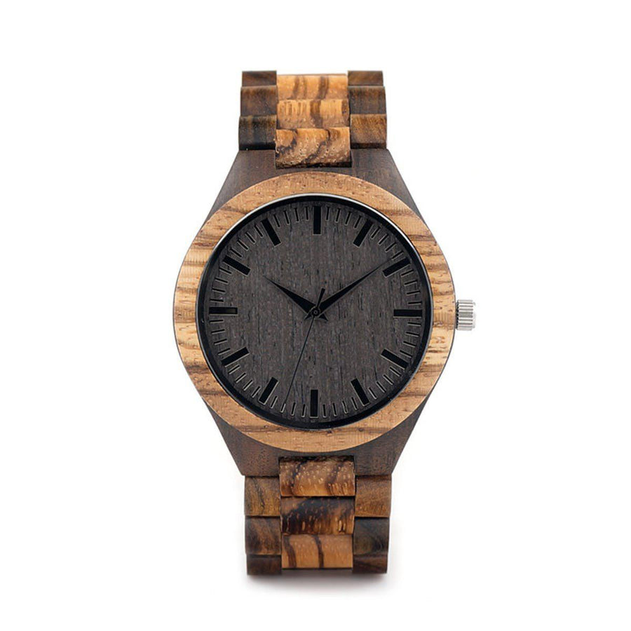 Ebony Wooden Watch Men Watches ebony-wooden-watch Default Title