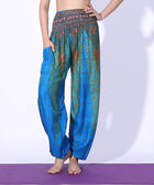 Feather Yoga Bohemian Harem Summer Beach Pants