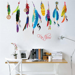 Flying Feathers Wall Sticker Feathers Wall Sticker flying-feathers-wall-sticker Default Title