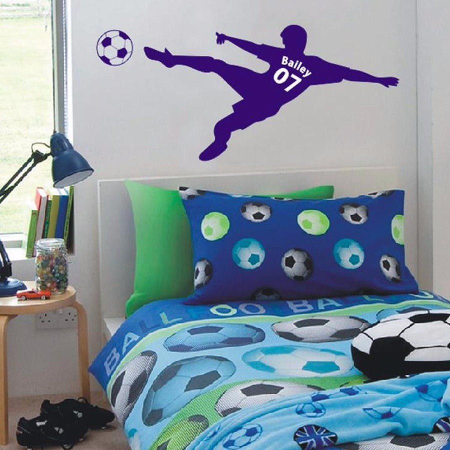 Football Wall Decals Bedroom Walls – Zebra Garden