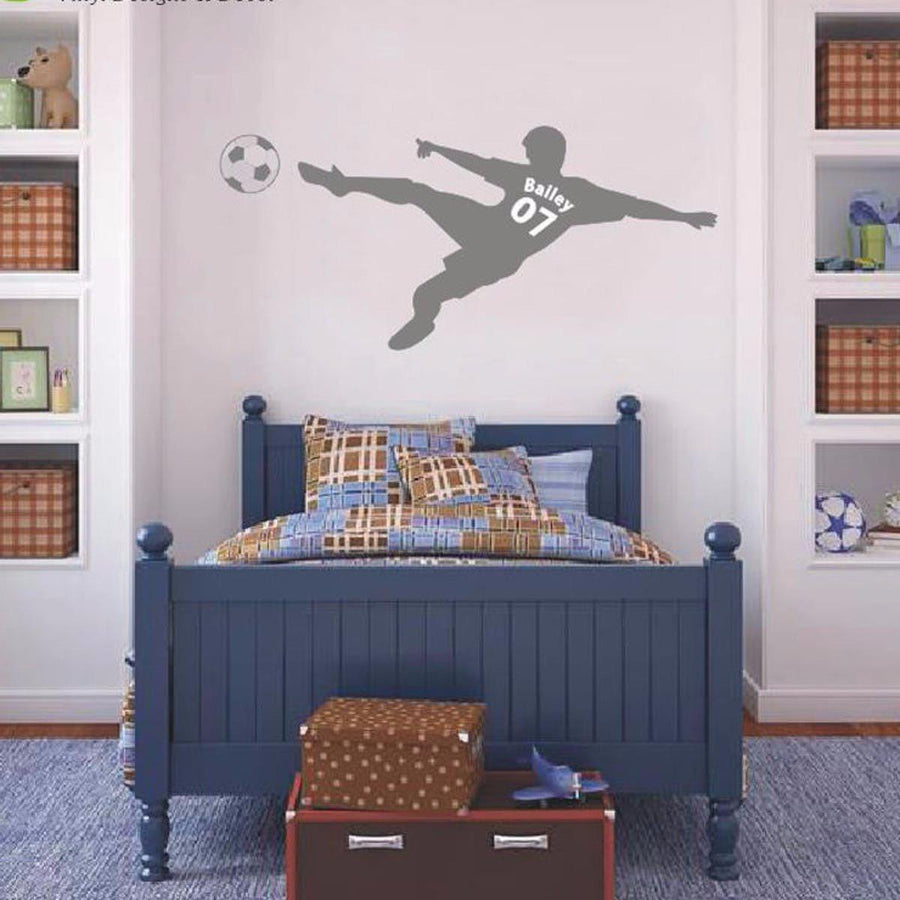 Football Personalized Wall Sticker