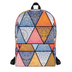 Genesis Backpack Boho Gypsy Art Unique Custom Design School Books Bag