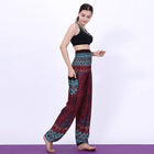 Geometric Mandala Printed Bohemian Yoga Chill Beach Loose Harem One Size Pants