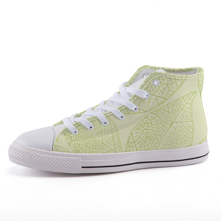 Green Leaves Sneakers 35 Shoes