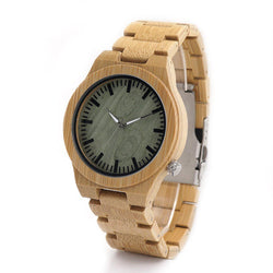 Green Wooden Watch Men Watches green-wooden-watch Default Title