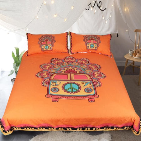 Hippie Bus Bedding Set