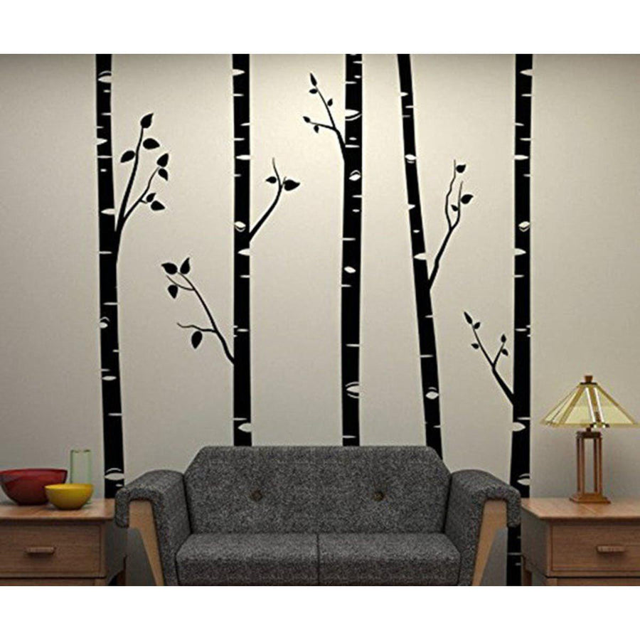Huge tree wall sticker spirylife huge tree wall sticker trees wall sticker huge tree wall stickers black amipublicfo Choice Image