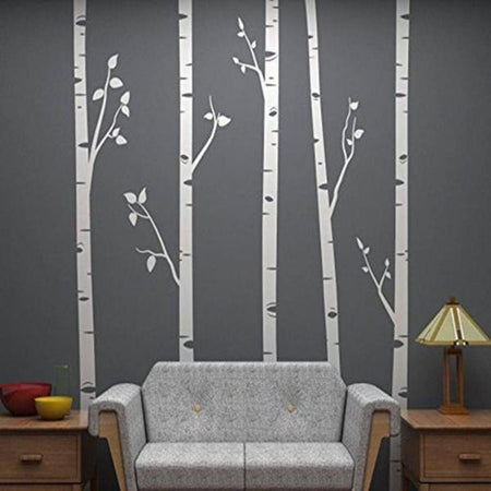 Huge Tree Wall Sticker Trees Wall Sticker huge-tree-wall-stickers white