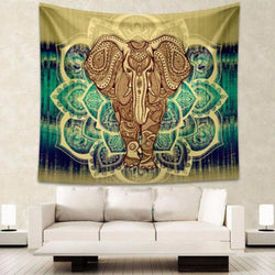 Indian Elephant Tapestry Tapestrie indian-elephant-tapestry-2 Default Title