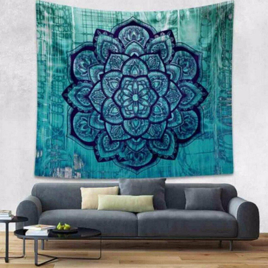 Indian Mandala Tapestry Tapestrie indian-mandala-tapestry-2 Default Title