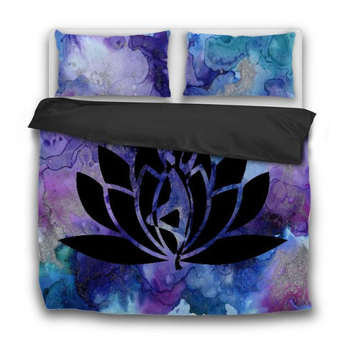 Lotus Bedding Set Us Twin Sets