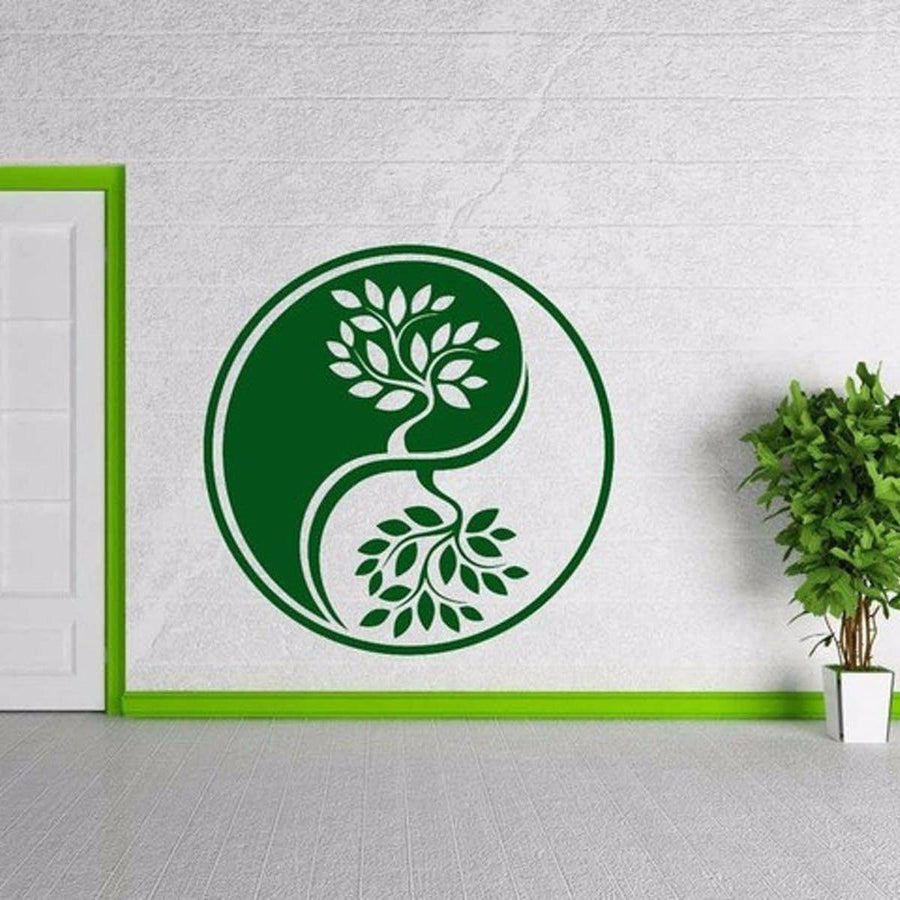 Mandala Wall Sticker Other Wall Sticker mandala-wall-sticker-home-decal-buddha-yin-yang-floral-yoga-meditation-vinyl-decal-wall-art-mural-home-decor-decoration-d175 13