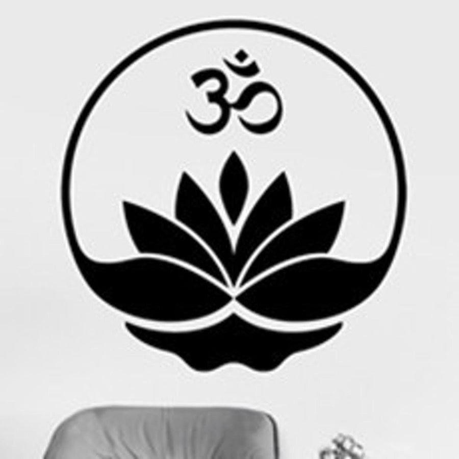 Mandala Wall Sticker Other Wall Sticker mandala-wall-sticker-home-decal-buddha-yin-yang-floral-yoga-meditation-vinyl-decal-wall-art-mural-home-decor-decoration-d175 18