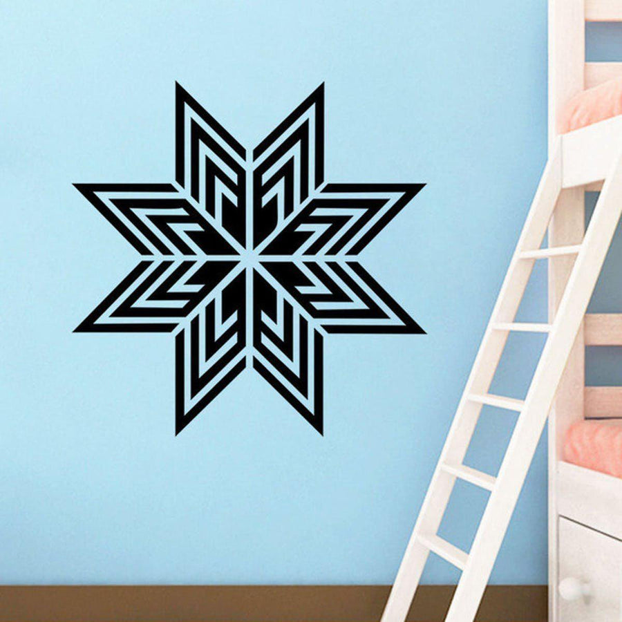 Mandala Wall Sticker Other Wall Sticker mandala-wall-sticker-home-decal-buddha-yin-yang-floral-yoga-meditation-vinyl-decal-wall-art-mural-home-decor-decoration-d175 22