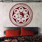 Mandala Wall Sticker Other Wall Sticker mandala-wall-sticker-home-decal-buddha-yin-yang-floral-yoga-meditation-vinyl-decal-wall-art-mural-home-decor-decoration-d175 4