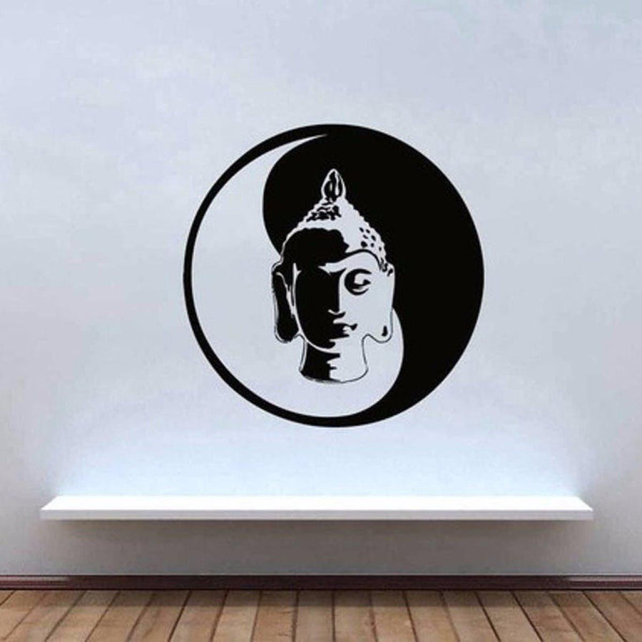 Mandala Wall Sticker Other Wall Sticker mandala-wall-sticker-home-decal-buddha-yin-yang-floral-yoga-meditation-vinyl-decal-wall-art-mural-home-decor-decoration-d175 7