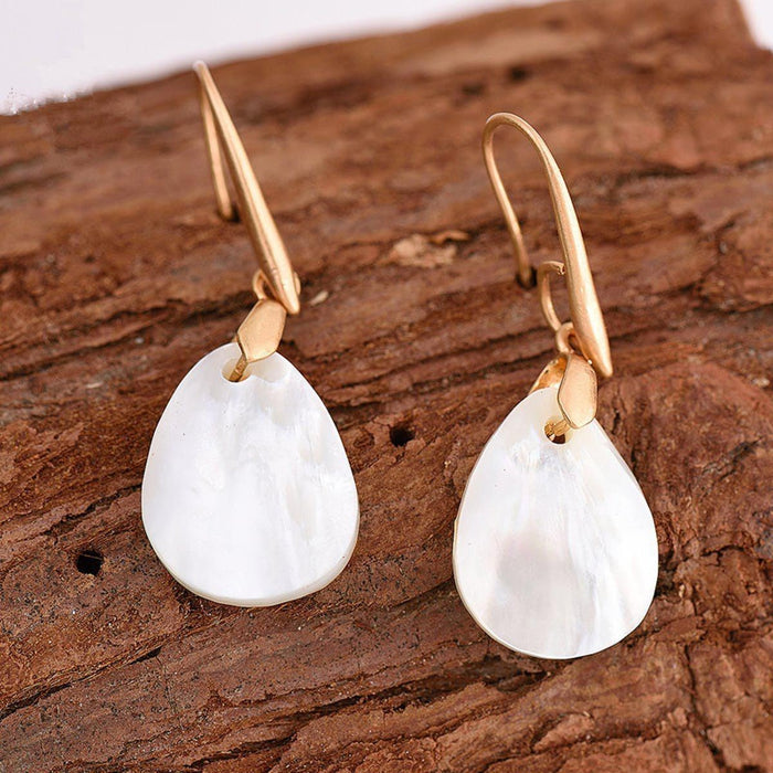 Natural Shell Earrings Earrings natural-shell-earrings Default Title