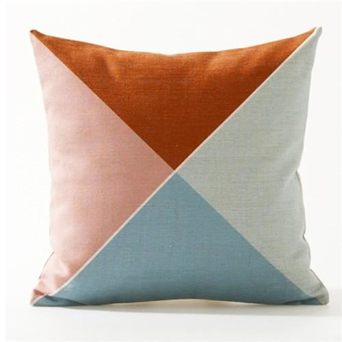 Nordic Abstract Colorful Cushion Covers Throw Pillow Cases 4 Cover