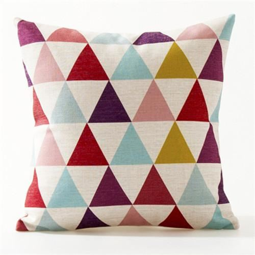 Nordic Abstract Colorful Cushion Covers Throw Pillow Cases 6 Cover