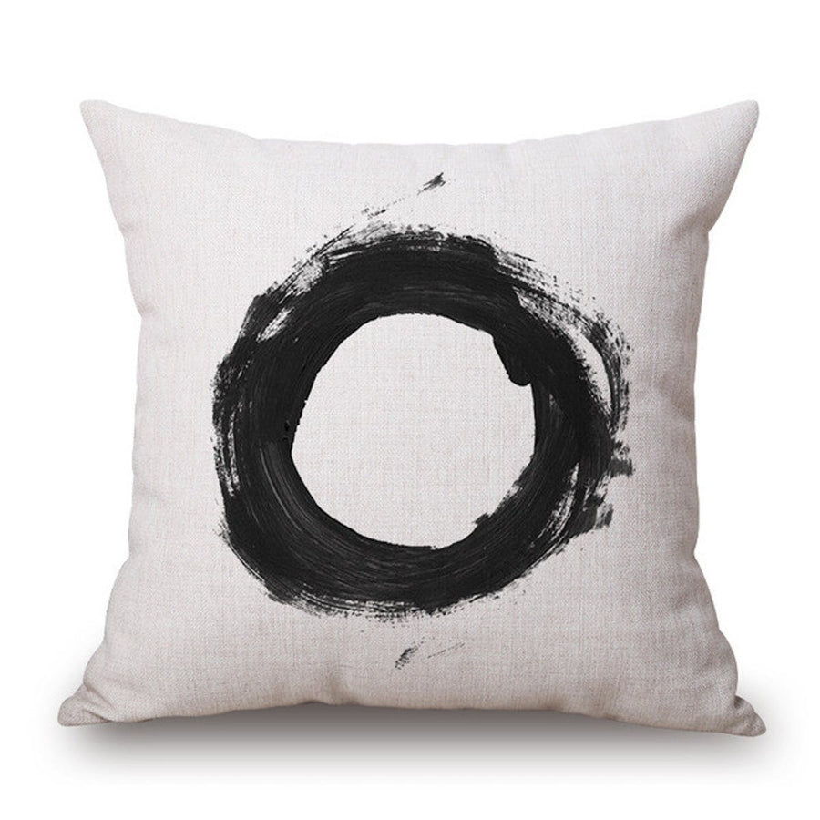 Nordic Geometry Black and White One Side Printing Home Decor Sofa Seat Decorative Cushion Cover Pillow Case pillows pillow nordic-geometry-black-and-white-one-side-printing-home-decor-sofa-seat-decorative-cushion-cover-pillow-case 6