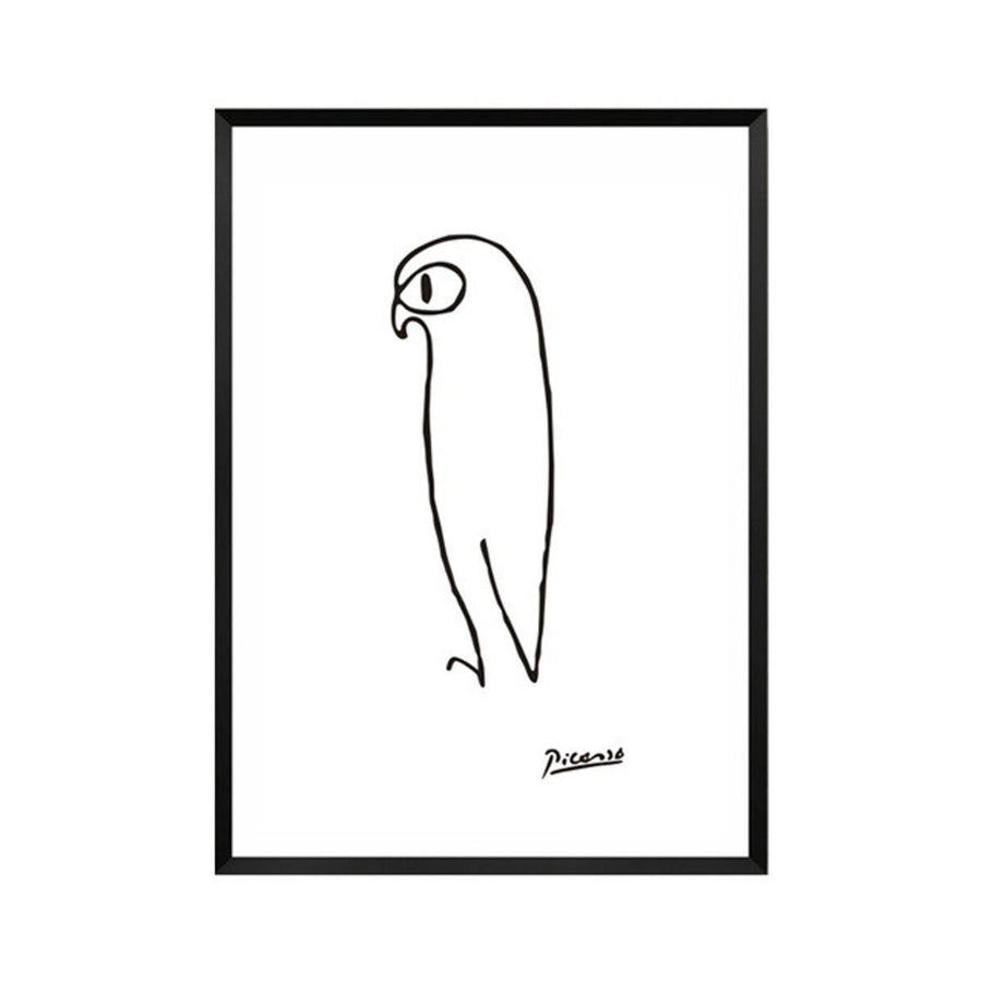 Pablo Picasso Abstract Canvas Wall Art pablo-picasso-abstract-canvas A4 21x30cm no frame / eagle