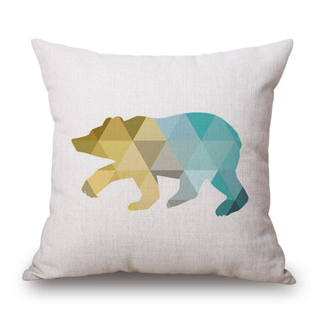 Nordic Geometric Cushion Covers-Spirylife