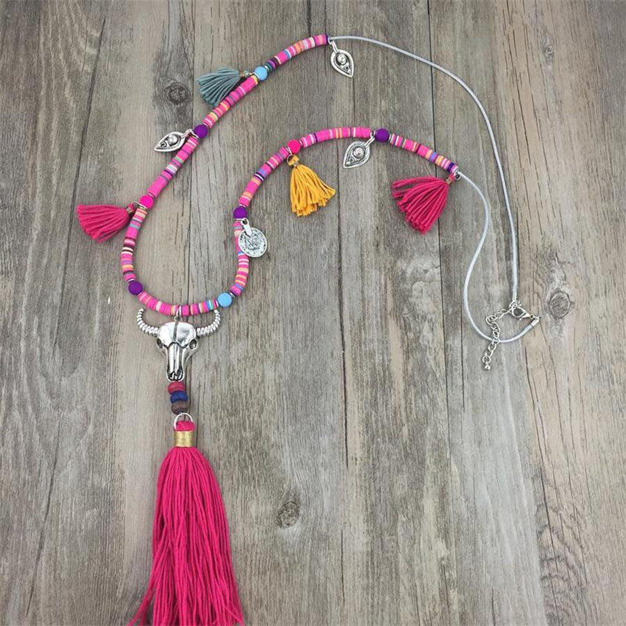 Summer Festival Necklace Tribal Necklaces summer-festival-necklace STYLE10
