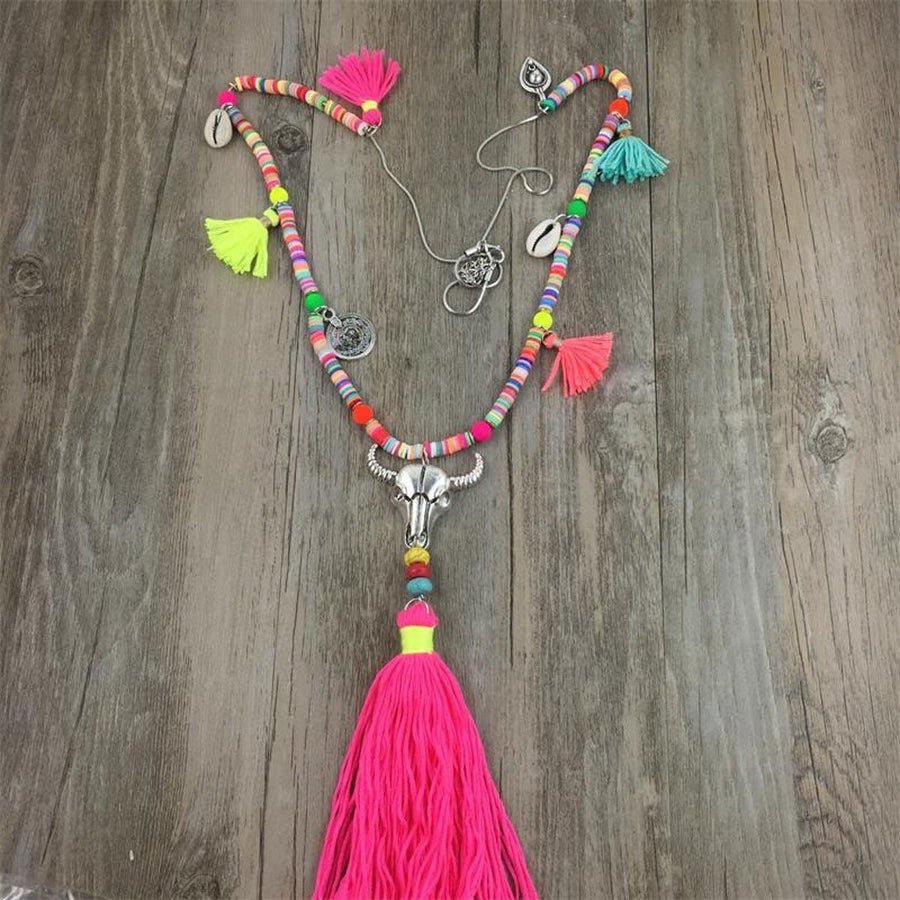Summer Festival Necklace Tribal Necklaces summer-festival-necklace STYLE 1