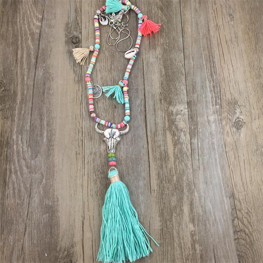 Summer Festival Necklace Tribal Necklaces summer-festival-necklace STYLE 3