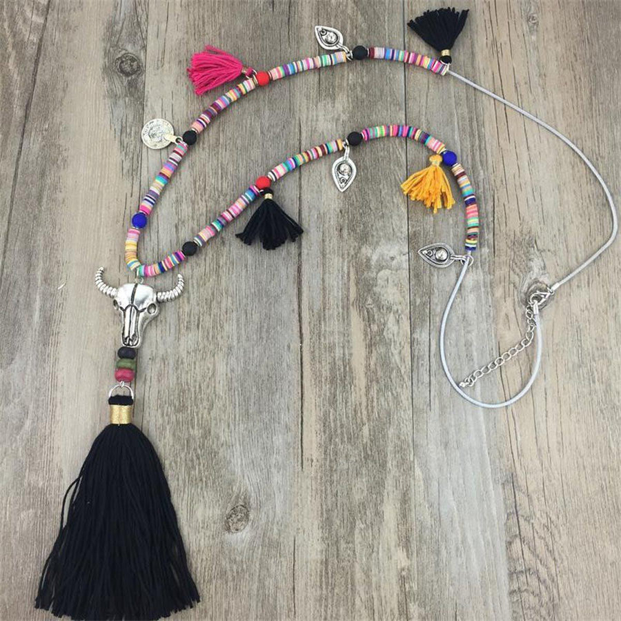 Summer Festival Necklace Tribal Necklaces summer-festival-necklace STYLE 9