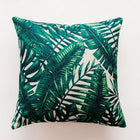 Tropical Green Leaf Cushion Covers Pillowcase Sofa Couch Decoration 8 Cover