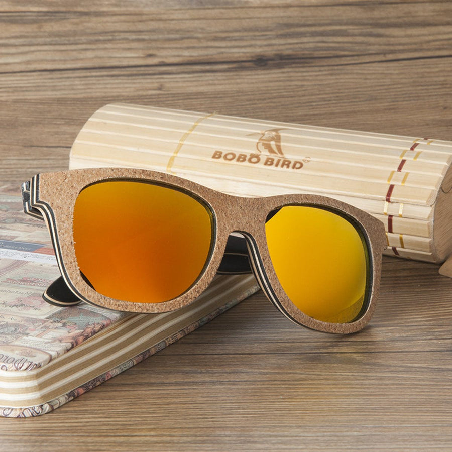 Unique Design Wooden Luxury Polarized Lens Sunglasses Men, Women sunglasses
