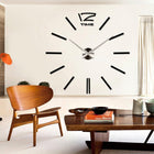 Wall Clock Sticker Clocks Wall Sticker wall-clock-sticker-2 Black