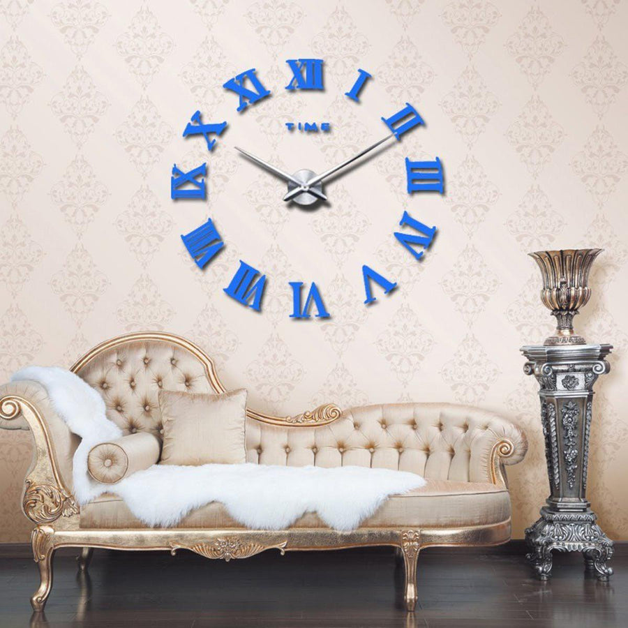 Wall Clock Sticker Clocks Wall Sticker wall-clock-sticker-5 dodgerBlue