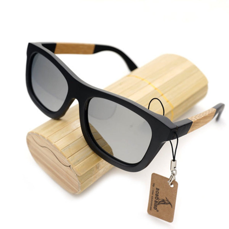 Wood Sunglasses Designer Polarized Handmade Bamboo Wooden Sunglasses Men, Women sunglasses