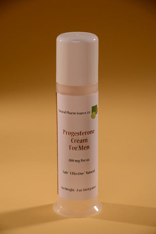 Natural Progesterone Cream for Men
