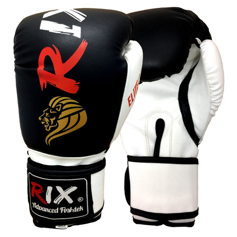 Rix Sparring Gym Training Punch Bag Mitts MMA Muay Thai Kick Pad Boxing Gloves - Combatek