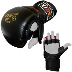 Rix Pro Grappling UFC Fight Kick Boxing Punch Bag Gym Training Pad Strike MMA Gloves