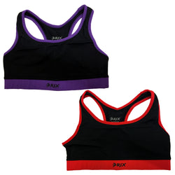Rix Women Seamless Sports Bra Gym Running Yoga Comfort Vest Ladies Crop Top - Combatek