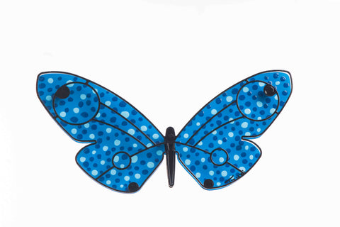 Wide Butterfly Blue