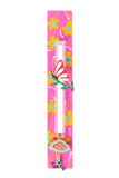 Butterfly Mezuzah Yellow Flowers On Pink Flowers