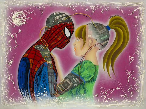 Spiderman 60 X 80