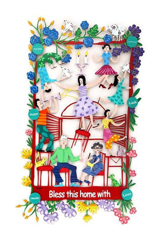 Home Blessing Frame English - Tzuki Studio