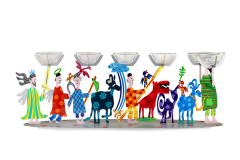 Passover Seder Plate Animals People
